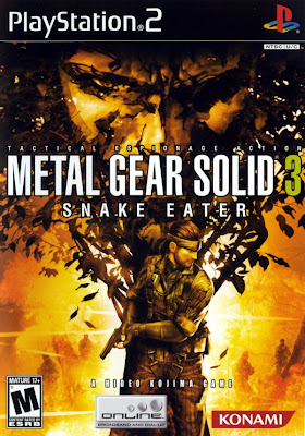 Categoria playstation 2, Capa Download Metal Gear Solid 3 Snake Eater (PS2)