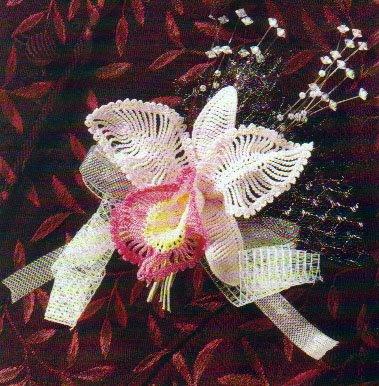 014nr4 Örgüden çiçek yapımı