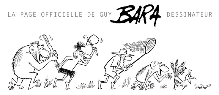page officielle de Guy Bara Dessinateur