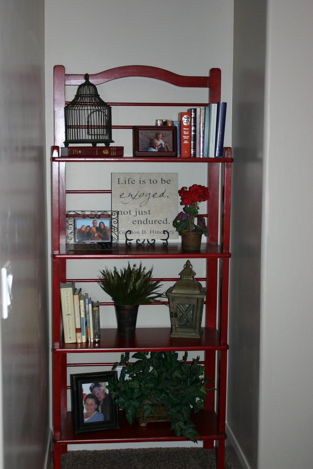 doubletake decor baker 39 s rack or book shelf. Black Bedroom Furniture Sets. Home Design Ideas