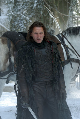 eccleston as the rider