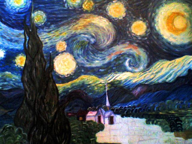 mi noche estrellada