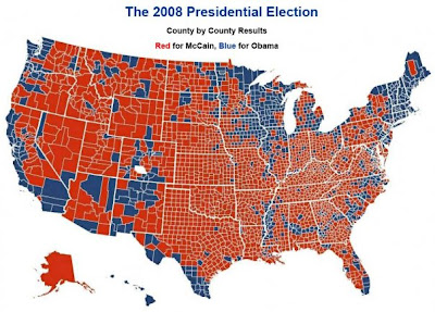 Election Usa Map 2008
