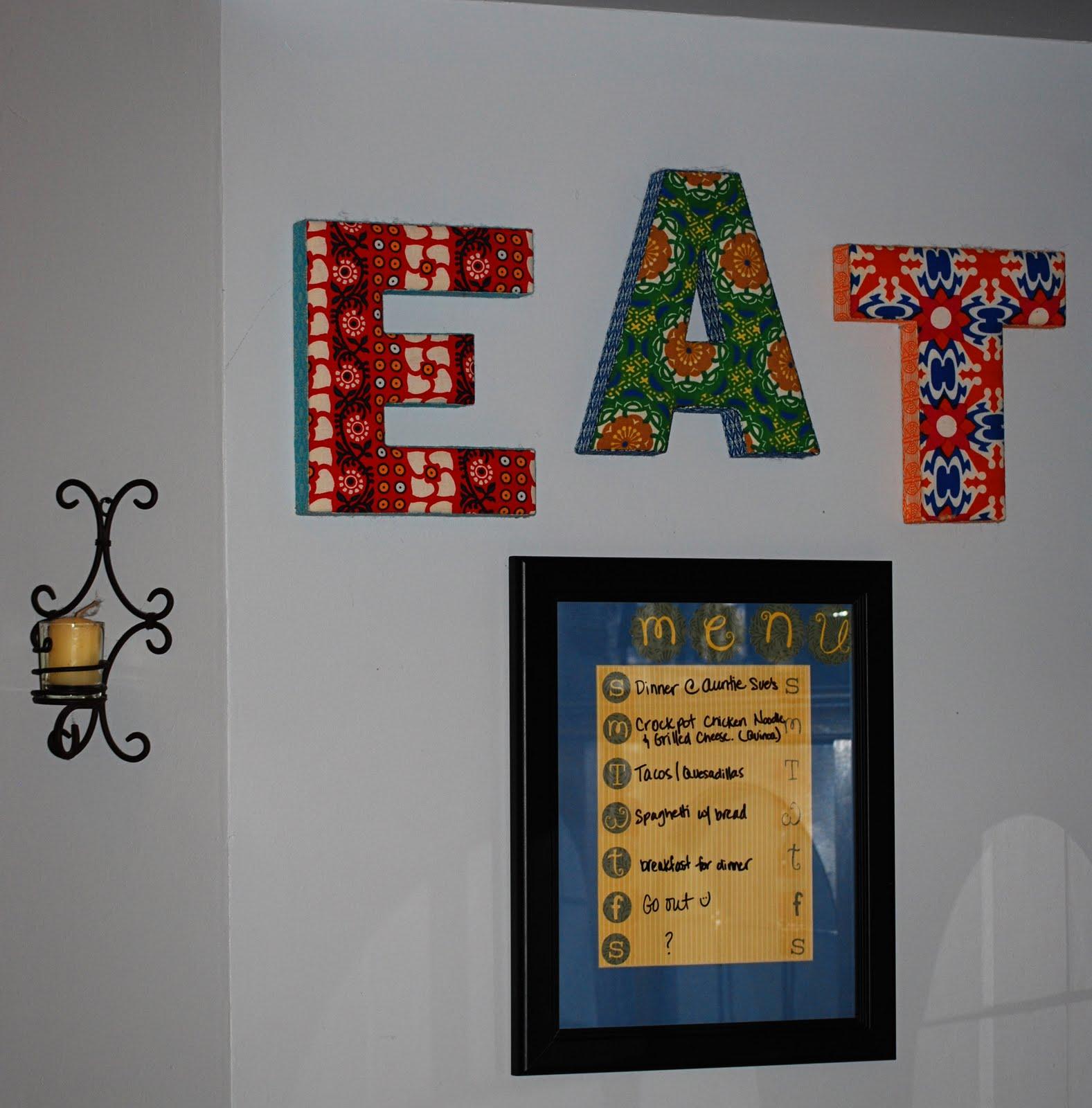 Menu board letters for Davson quartet letter board