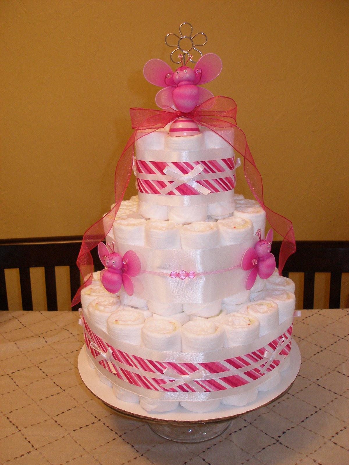 [divine+diaper+cakes+pink]