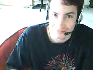 So i've been chatting to this really cute looking boy using a webcam even ;) ...