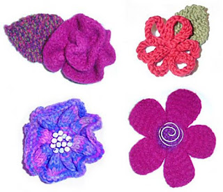 Knit Flower Patterns : Flower Patterns to Knit & Crochet