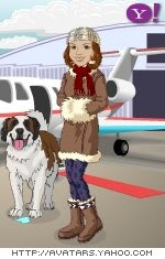 This is me in front of my Leer jet.