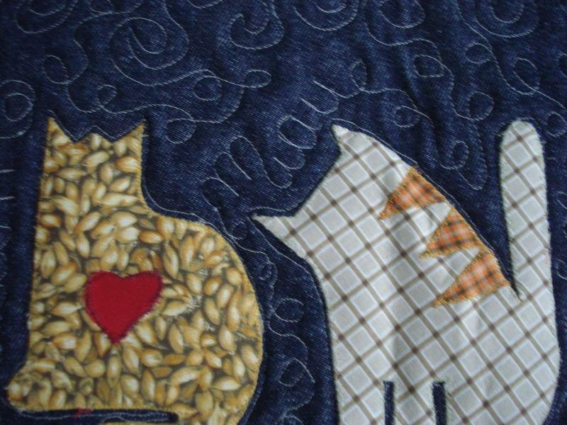 Bolsa 3 Gatinhos - Detalhe Miau