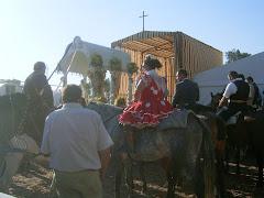 Salida de la Hdad de San Fernando hacia su primera presentacion como Hdad Filial año2006
