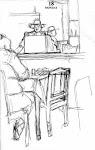 Cantina, dibujo de John Spencer