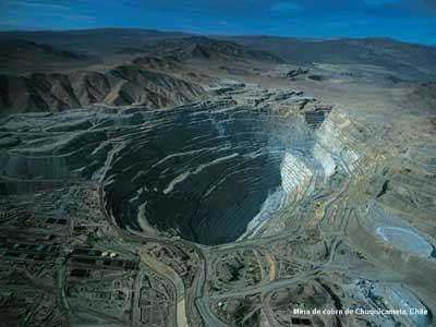 Los Hoyos Terrestres Más Impresionantes Chuquicamata_act