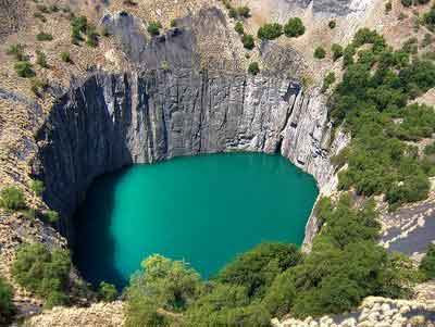 Los Hoyos Terrestres Más Impresionantes Kimberley-Diamond-Mine