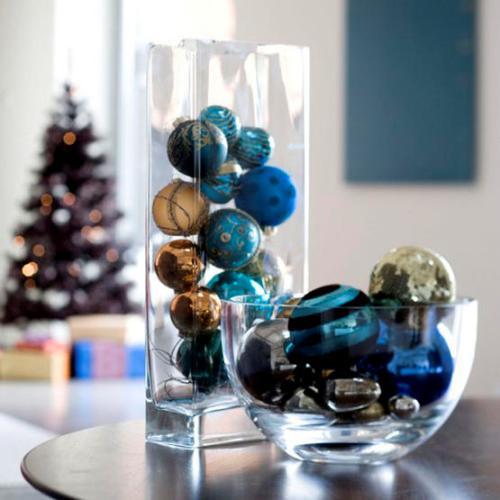 Decoracion Jarrones Para Navidad ~ Las Fiestas Llegaron Ya! Decoracion de navidad Centros de mesa con