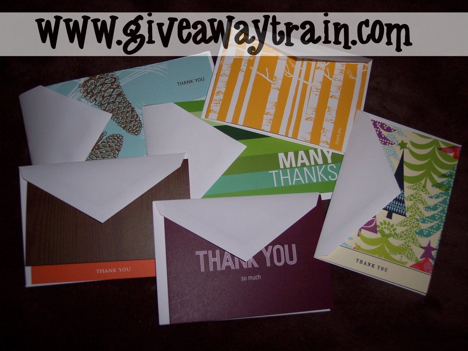 Closed Pear Tree Greetings Note Card Review Giveaway