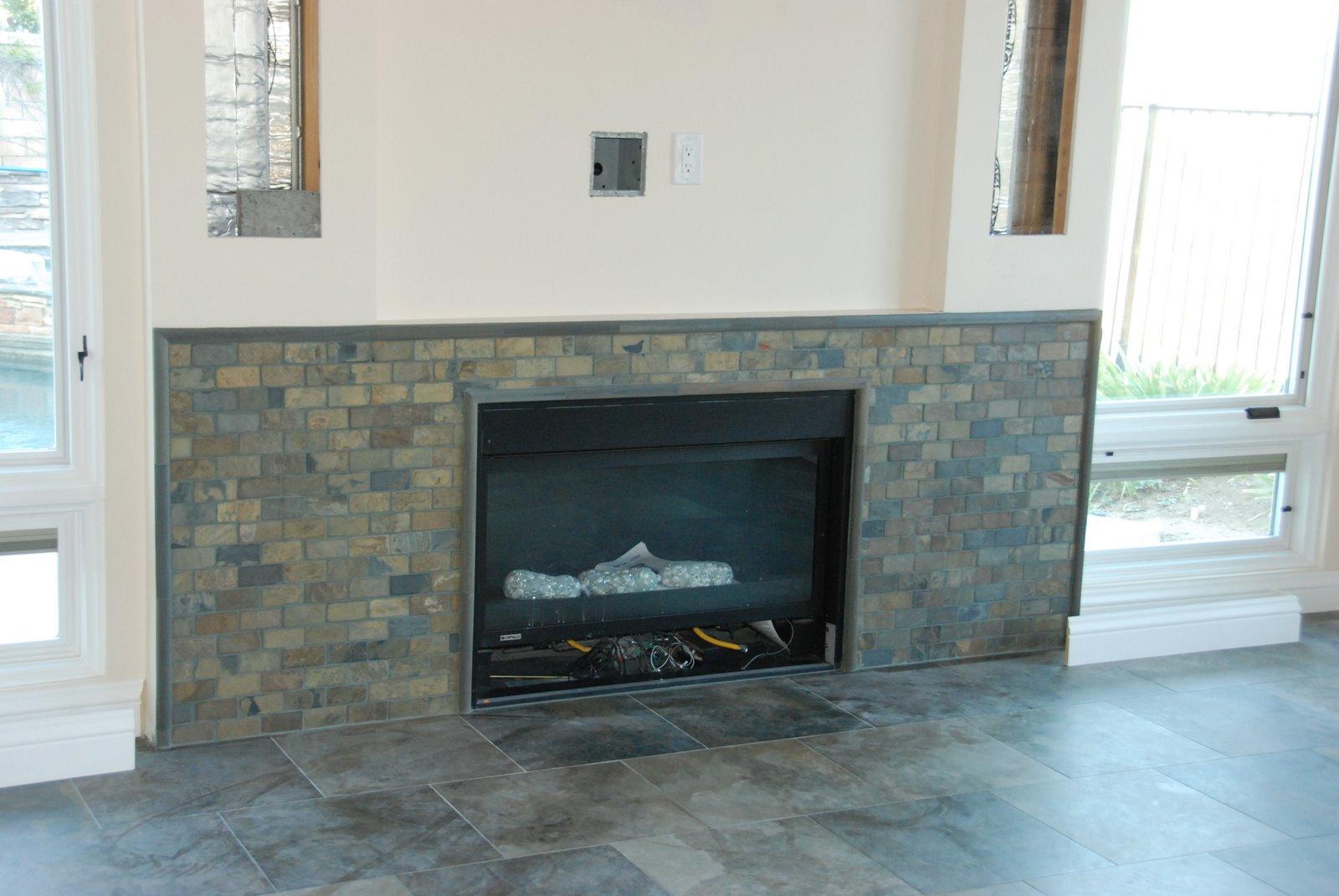 5719 project backsplash and fireplace tile