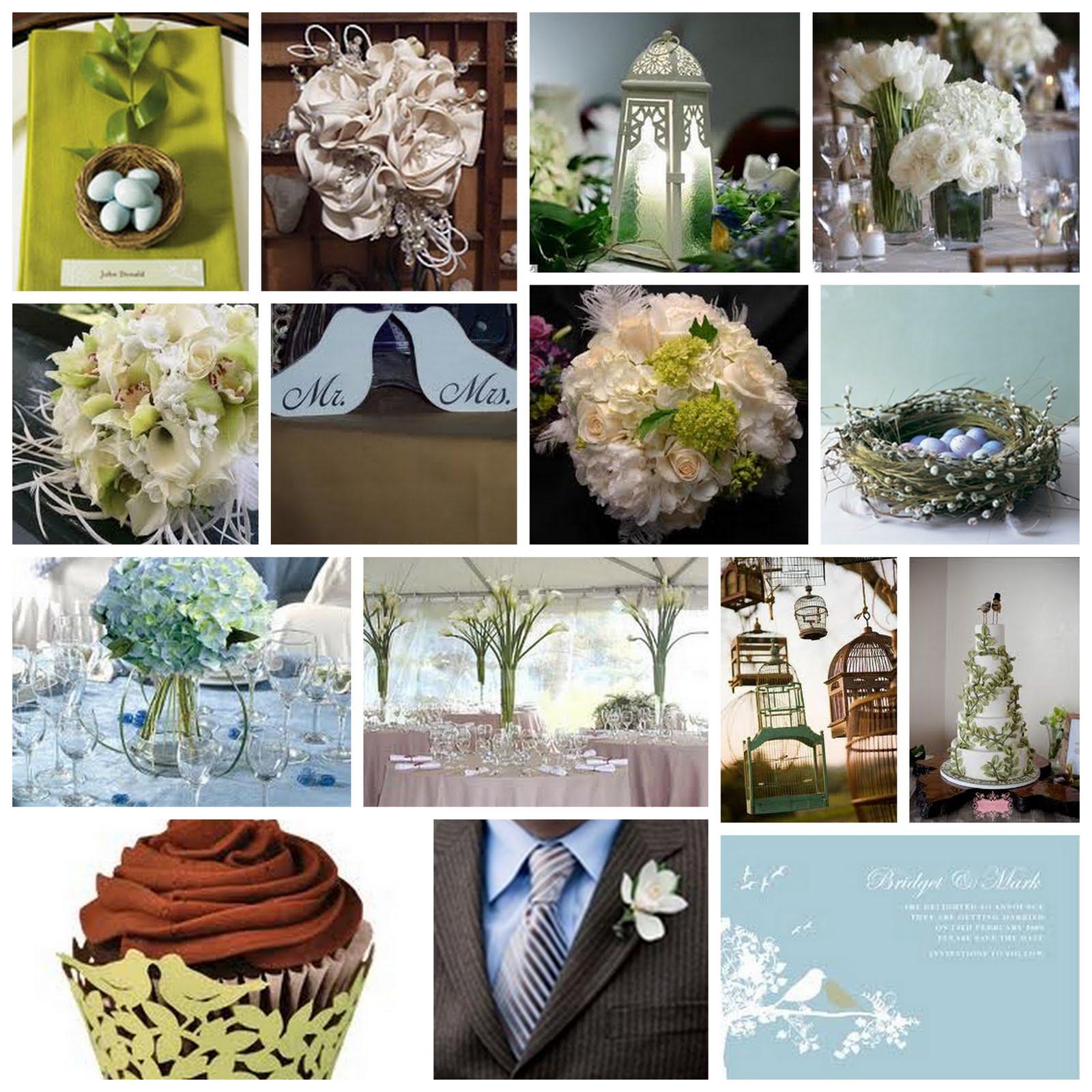 Kirkbrides Love Birds Wedding Inspiration Board