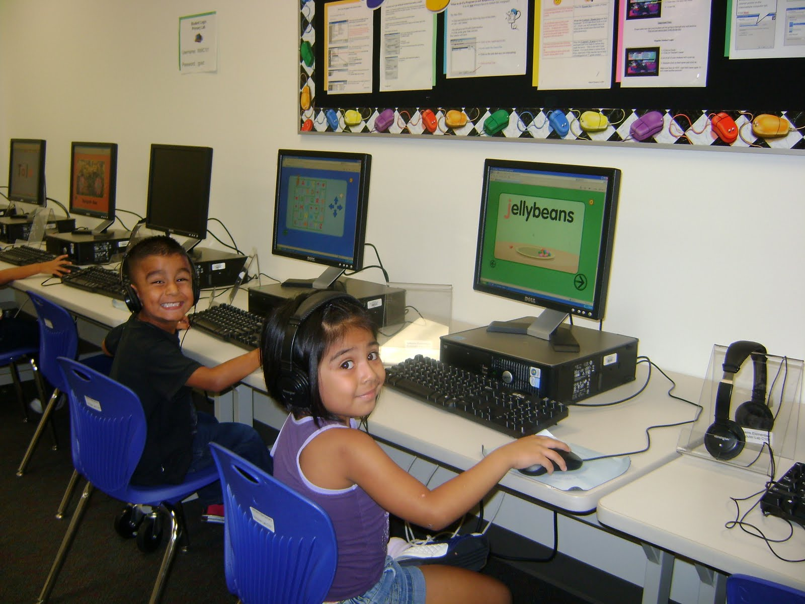 Green Meadow Elementary Media Center: Kindergarteners in the ...