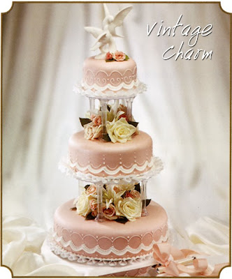 Vintage Wedding Cakes And Toppers