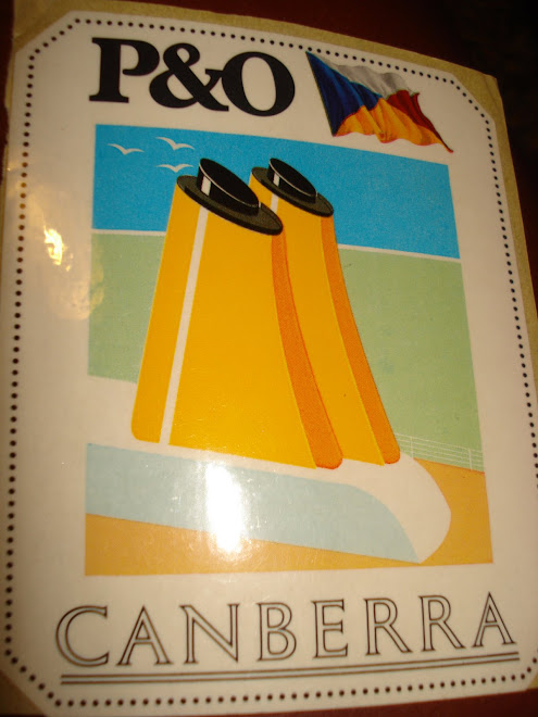 AUTOCOLANTE P&O CAMBERRA