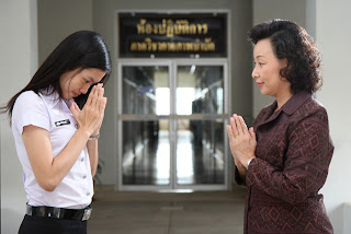 Prapaynee thai culture thai greeting we use wai to greet to thank and to apologize while greeting people usually say hello goodbye sorry or what so ever at the same time m4hsunfo