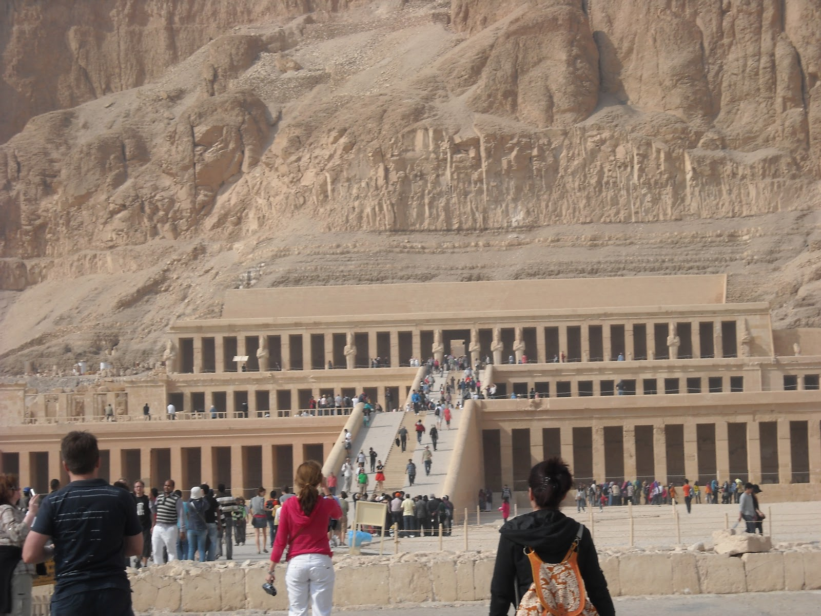 ... as well as Hatshepsut's Temple, the most famous female pharaoh- look at ...