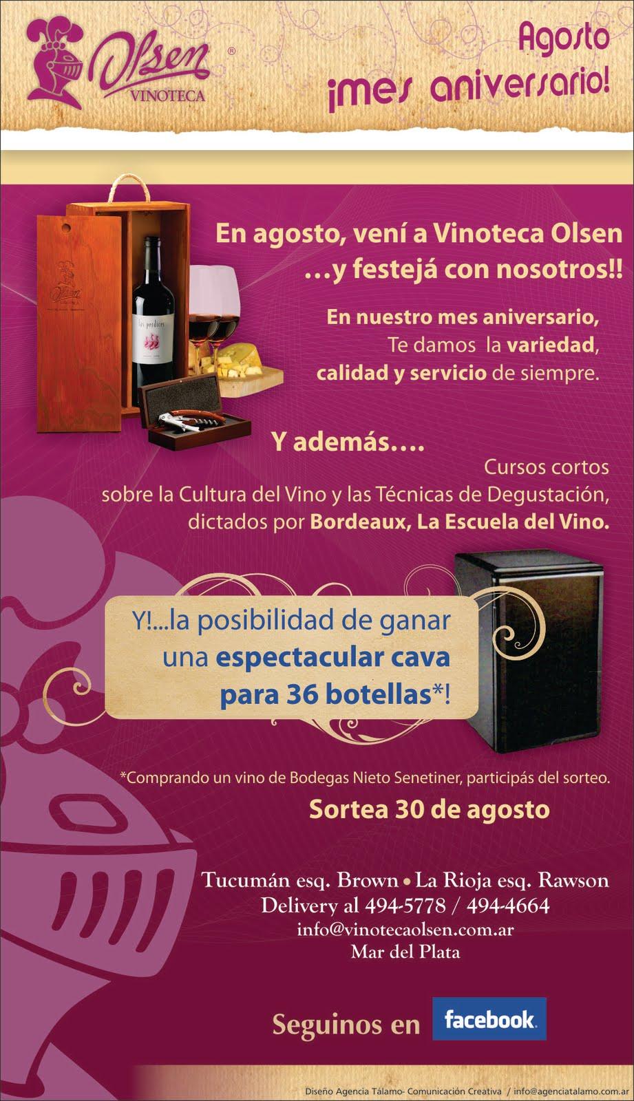 Dise o de mailing para vinoteca olsen - Diseno de vinotecas ...