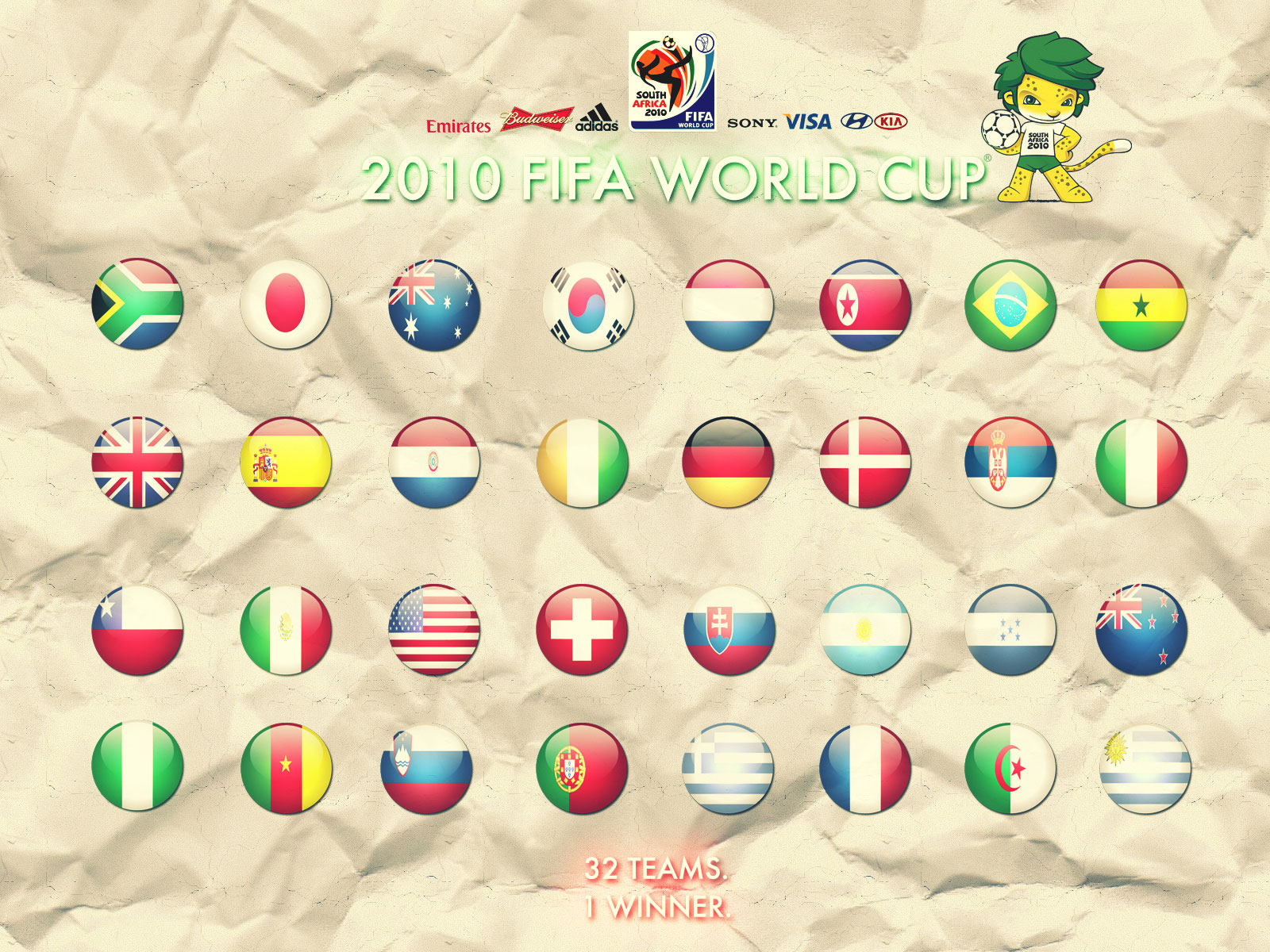 2010 Fifa World Cup - Desktop Wallpaper Images!