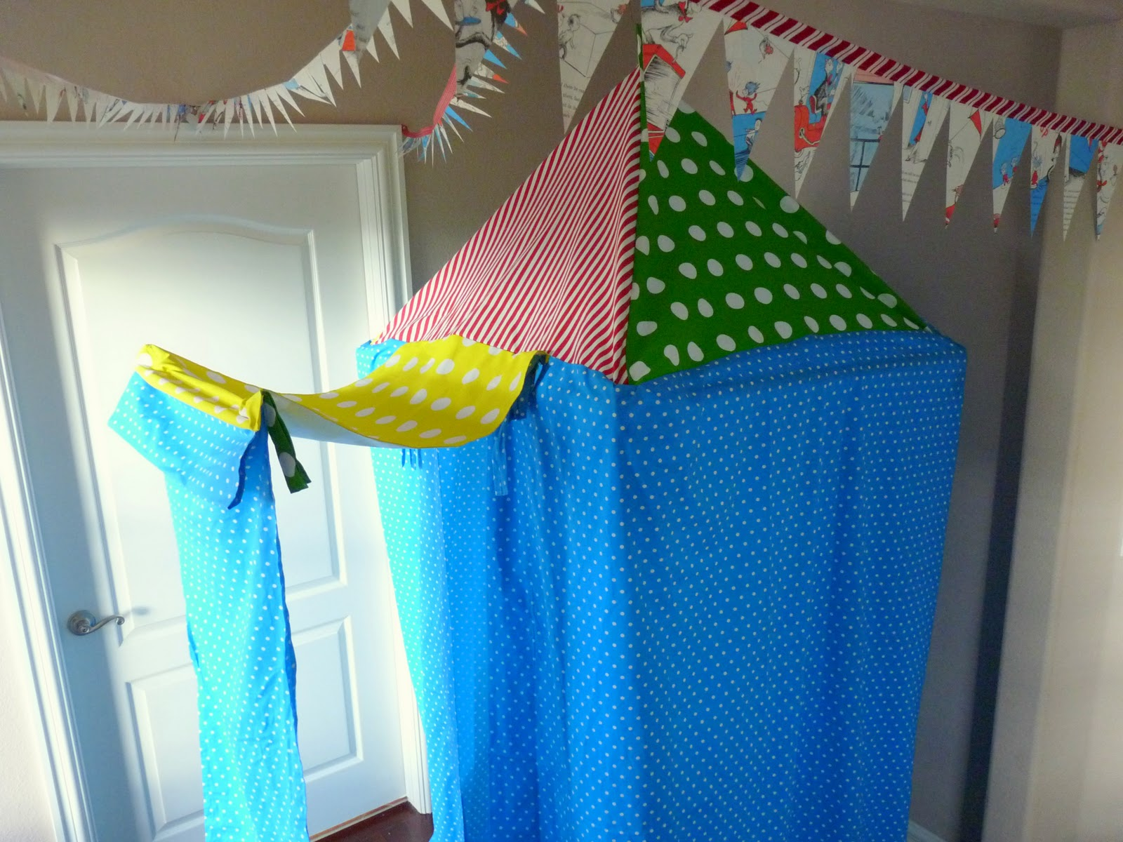 & gifts for (little) guys tutorial: hanging tent part 1