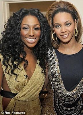 Alexandra Burke tributes Beyonce
