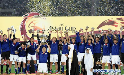 Japan win Asian Cup for record fourth time