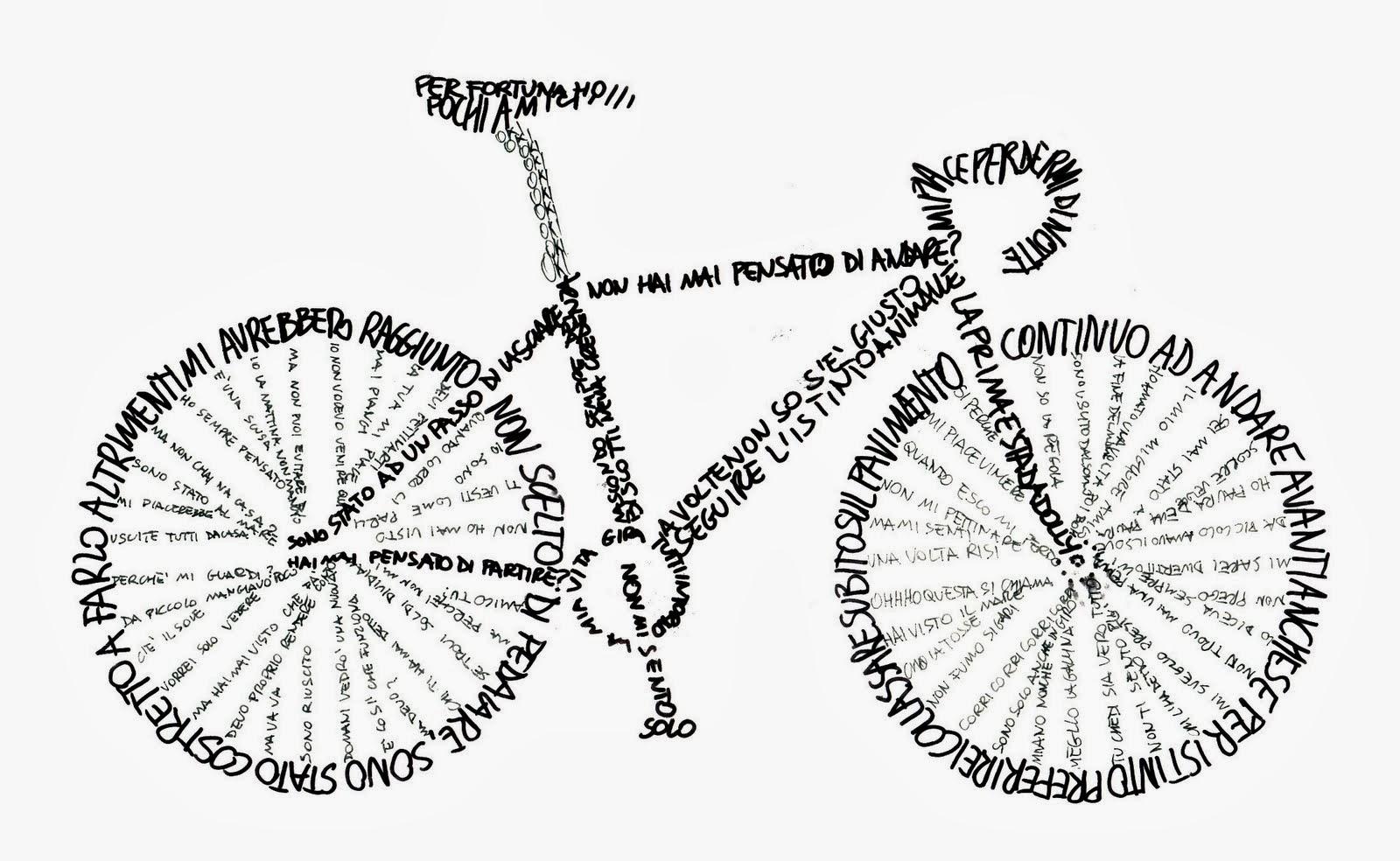 la bici da corsa frasi
