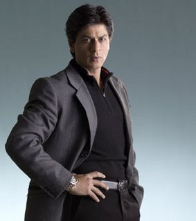 SRK in suit