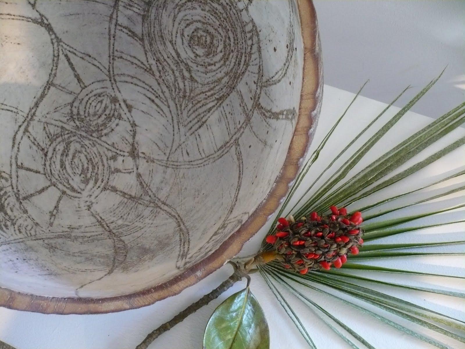 Chisato ceramica semillas de magnolia - Semilla de magnolia ...