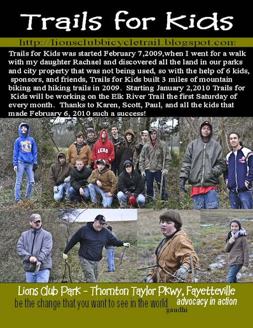 Trails for Kids February trail workday