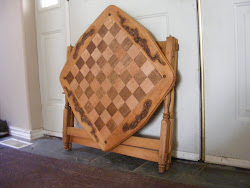 Chessboard ready for transport
