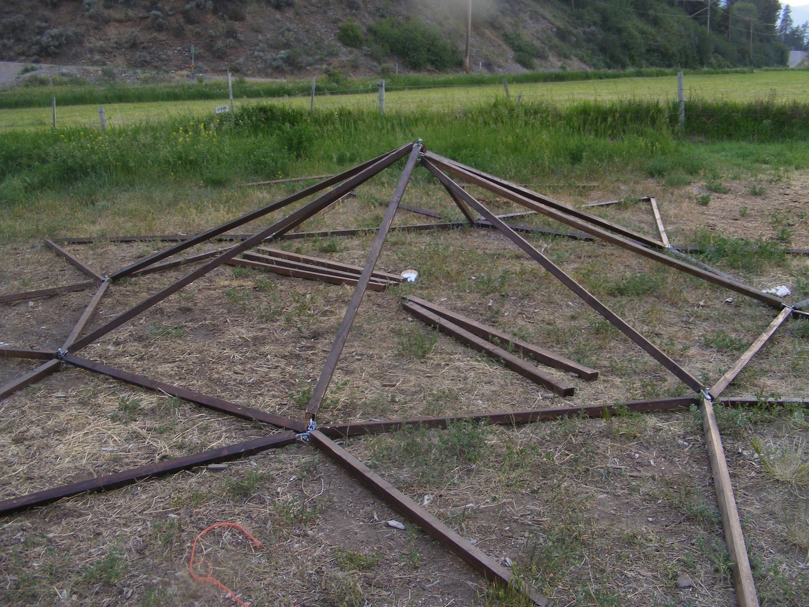 how to make a medieval tent