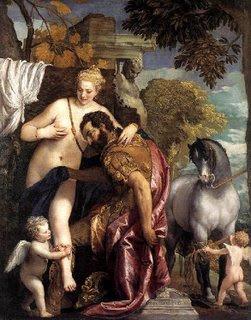 Marte y Venus unidos por el amor, El Veronés