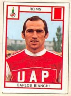 Carlos Bianchi, Album Football 76 de Panini. Collection particulière de JC Brochard