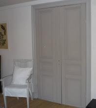 Temperamålade dörrar