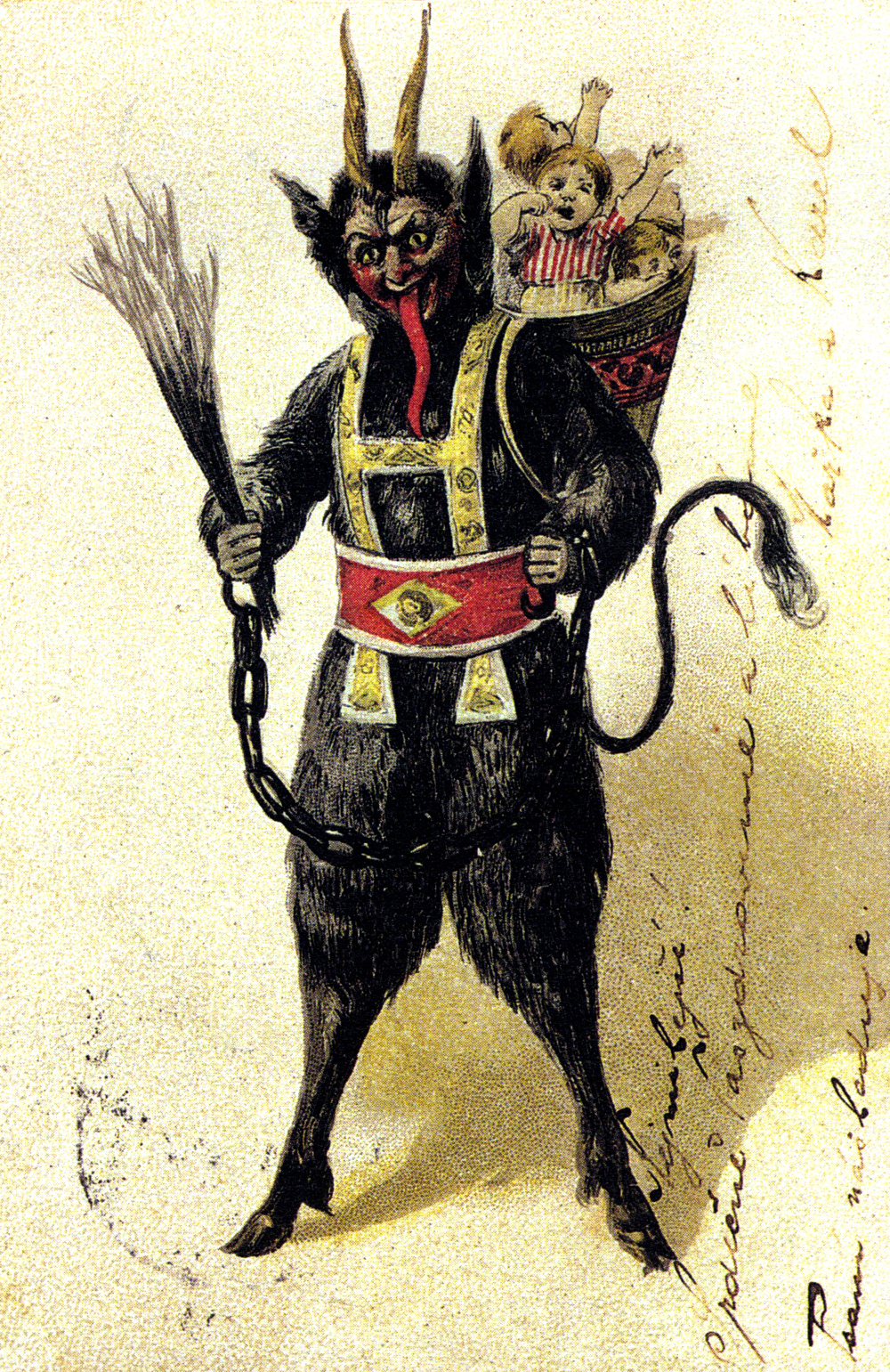 Merry krampus card images amp pictures becuo