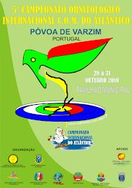 5º Campeonato Ornitológico Internaconal COM do Atlântico