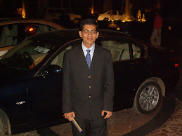 Posing with my M.Sc. Degree outside Leela Kempinski, Bangalore