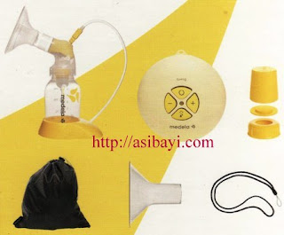 kelengkapan medela breastpump swing