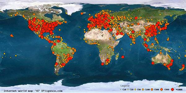 Web Educativa El gora del Siglo XXI Mapa Mundi Interactivo