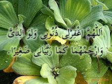 Doa Untuk Ibu Dan Bapa