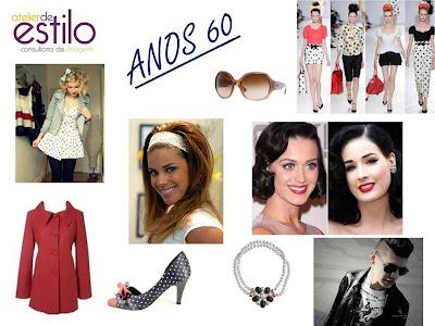 Clube de estilo moda anos 60 liberdade feminina - Estilo anos 60 ...