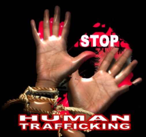 child trafficking poster