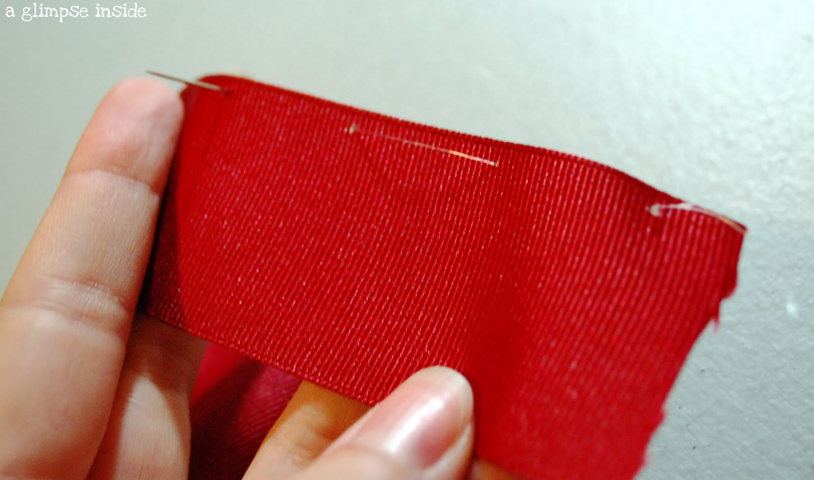 how to stop organza ribbon from fraying
