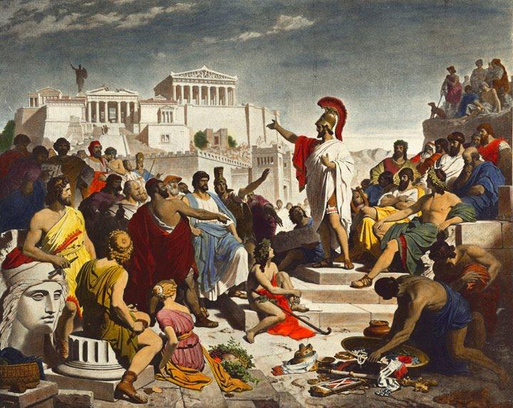 Lat n y cultura cl sica en el clavero el legado pol tico for Costumbres de grecia